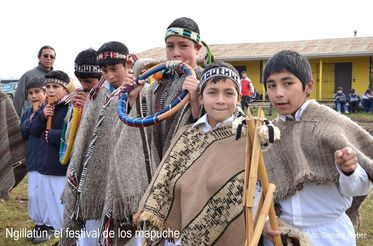 Ngillatún, the festival of the Mapuche